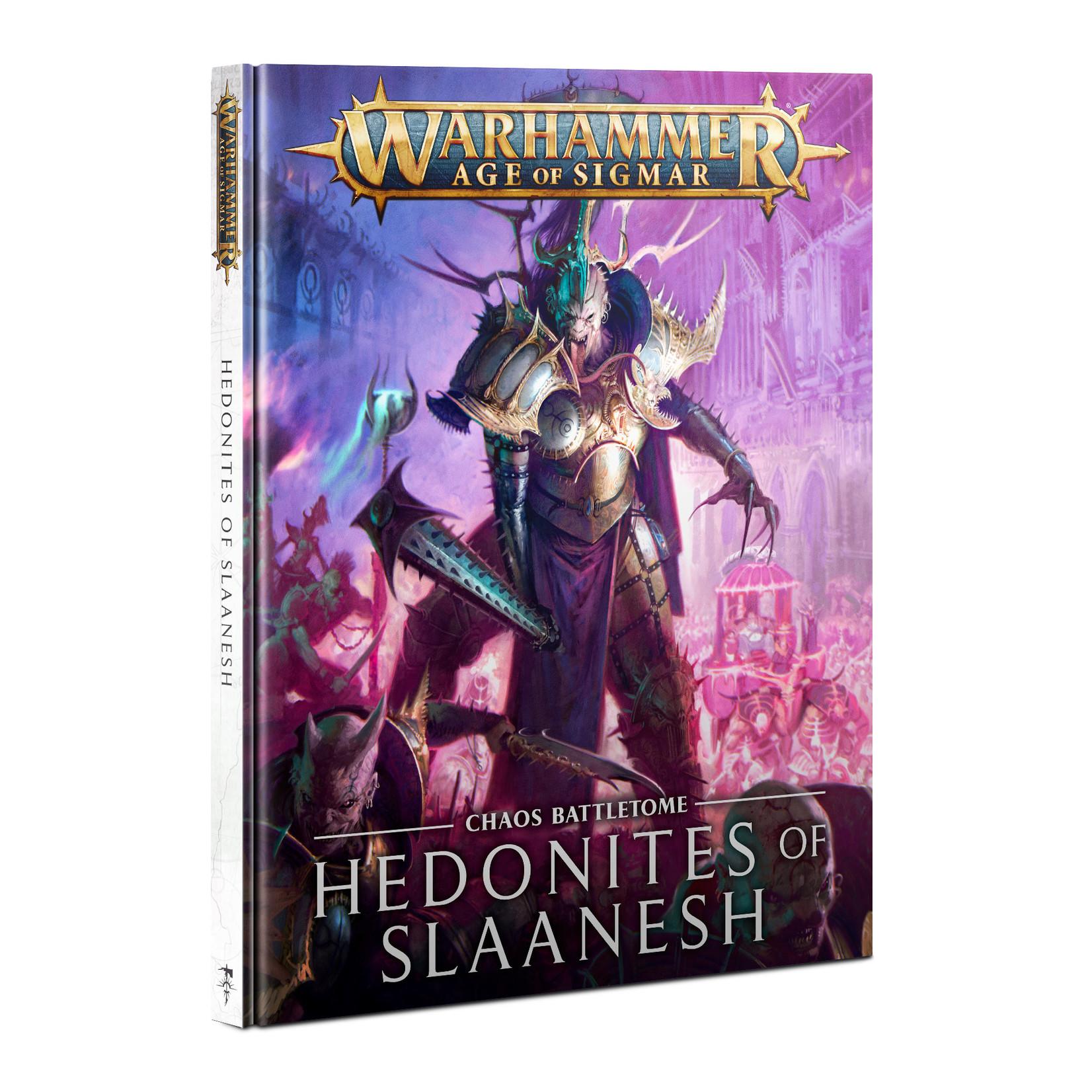 Age of Sigmar Battletome : Hedonites of Slaanesh (ENG)
