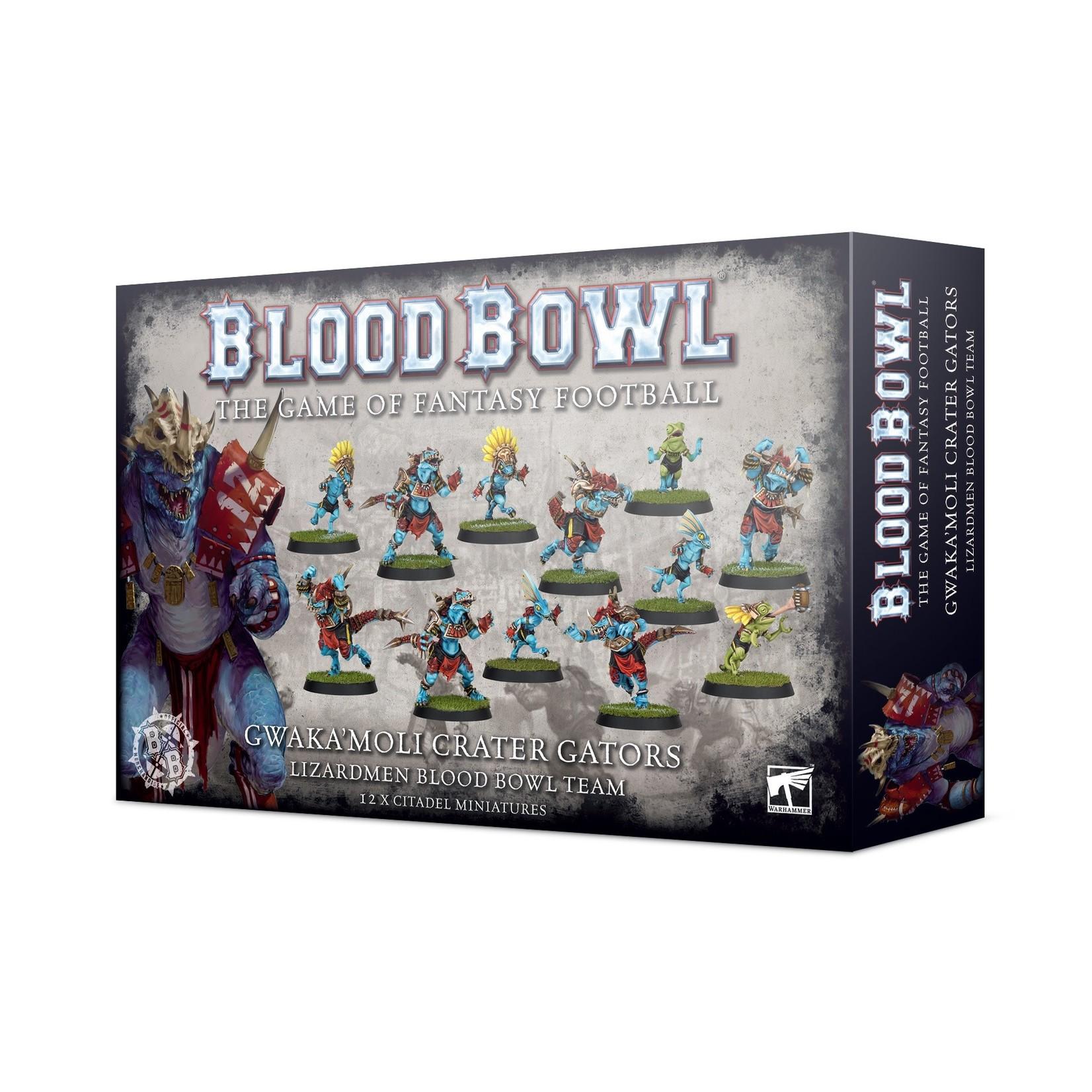 Blood Bowl BloodBowl : Gwaka'Moli Crater Gators