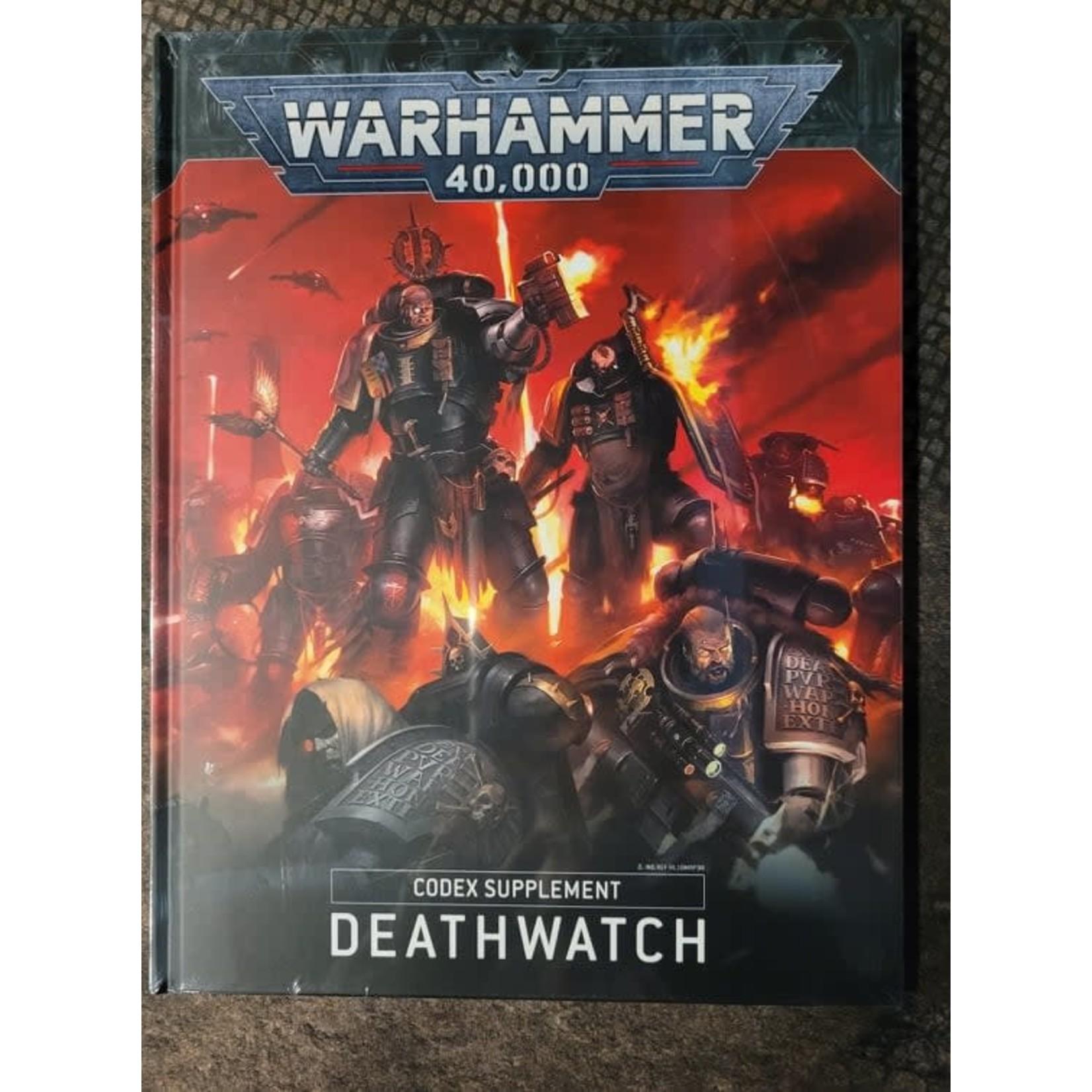 Warhammer 40K Codex  Supplement: Deathwatch (Anglais)
