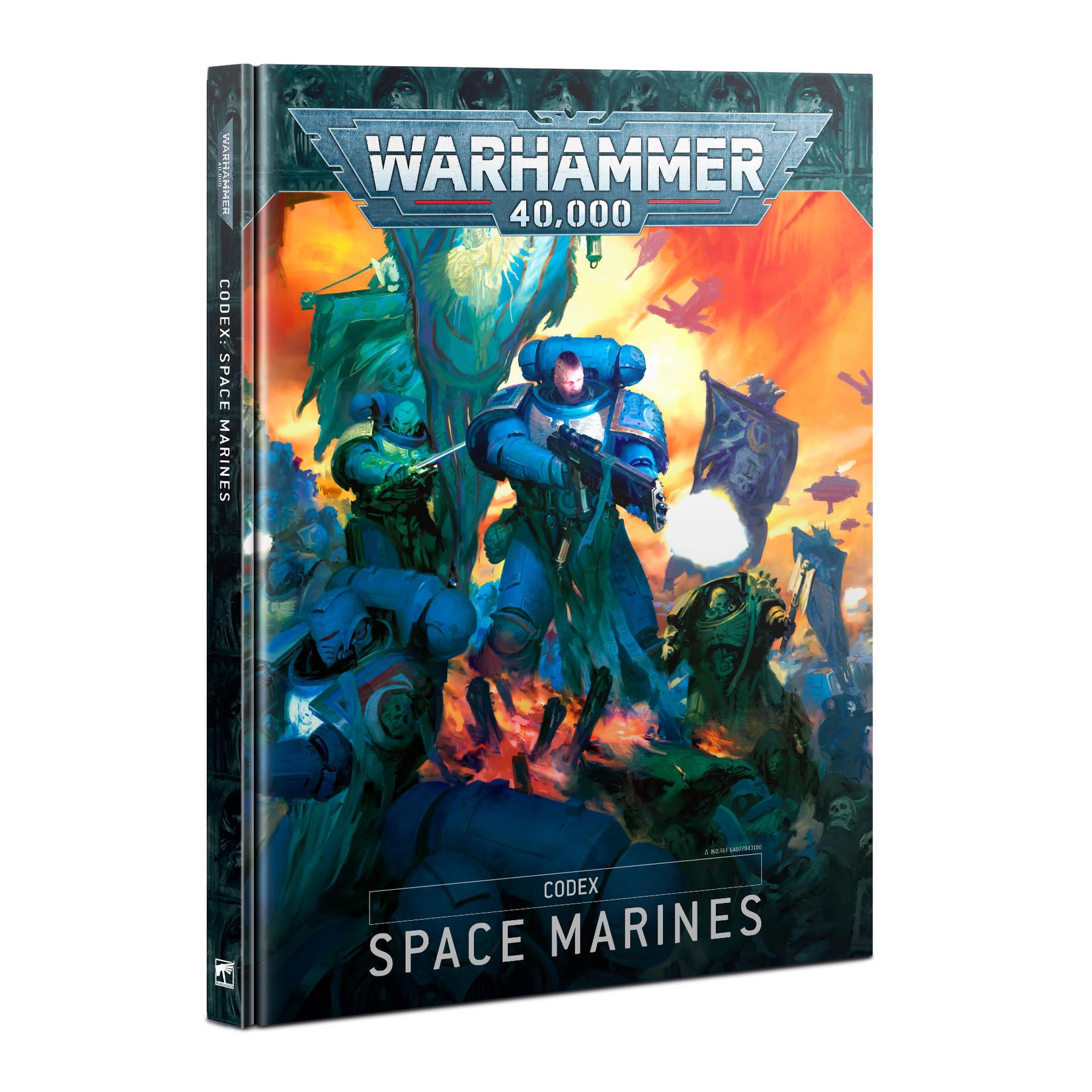 Warhammer 40K Codex Space Marines (Anglais)