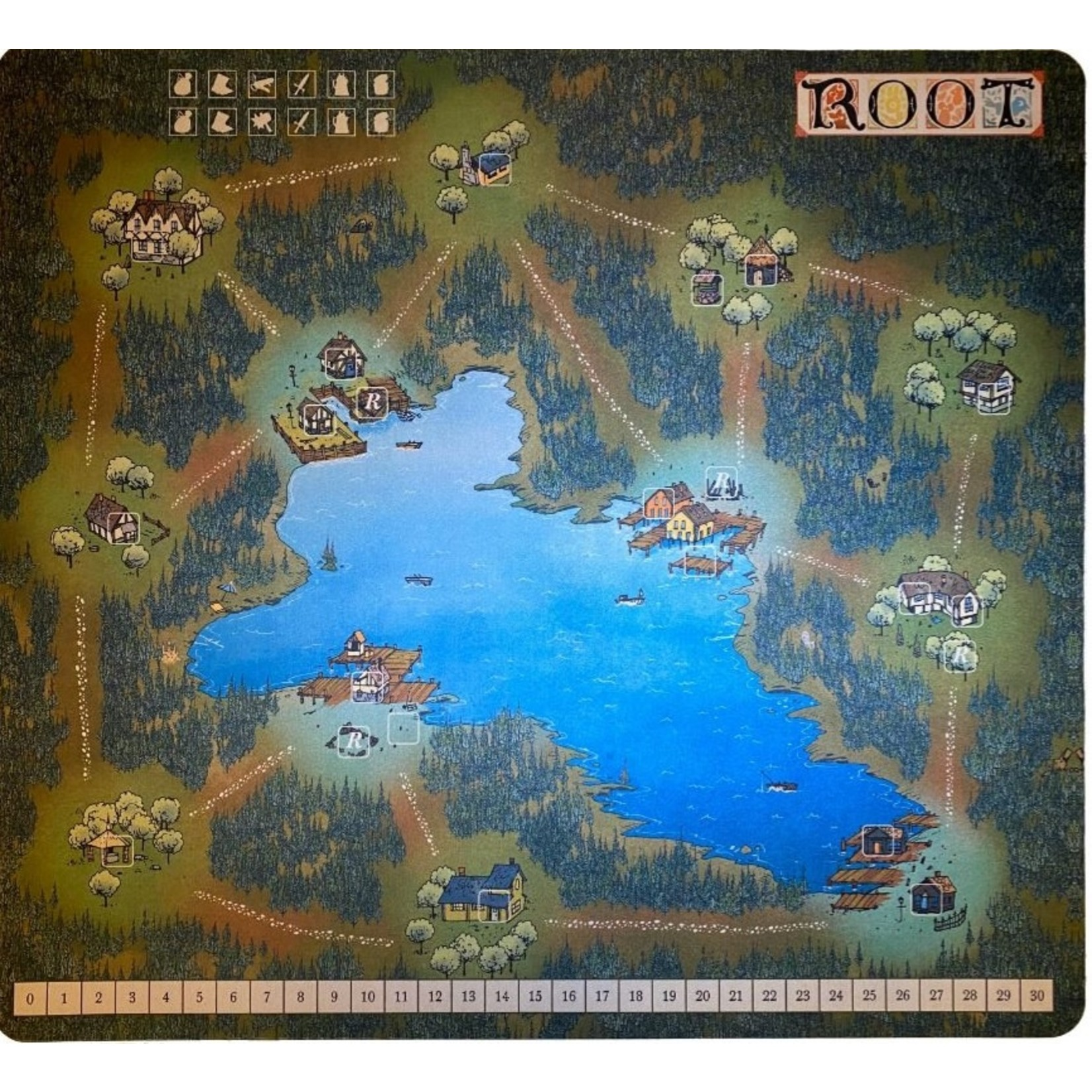 Root : Playmat Mountain/Lake