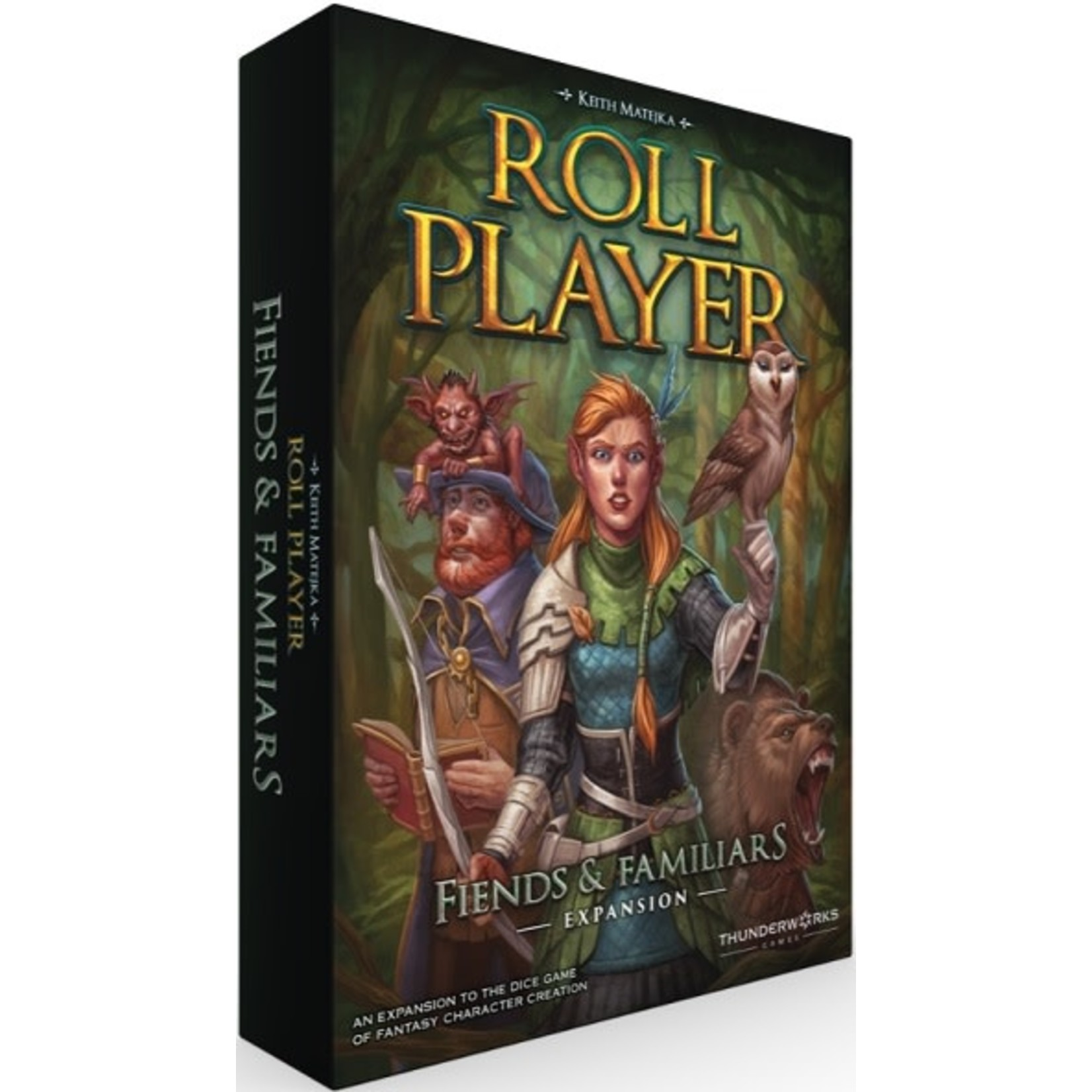 Roll Player Extension Friends and Familiar (Eng)