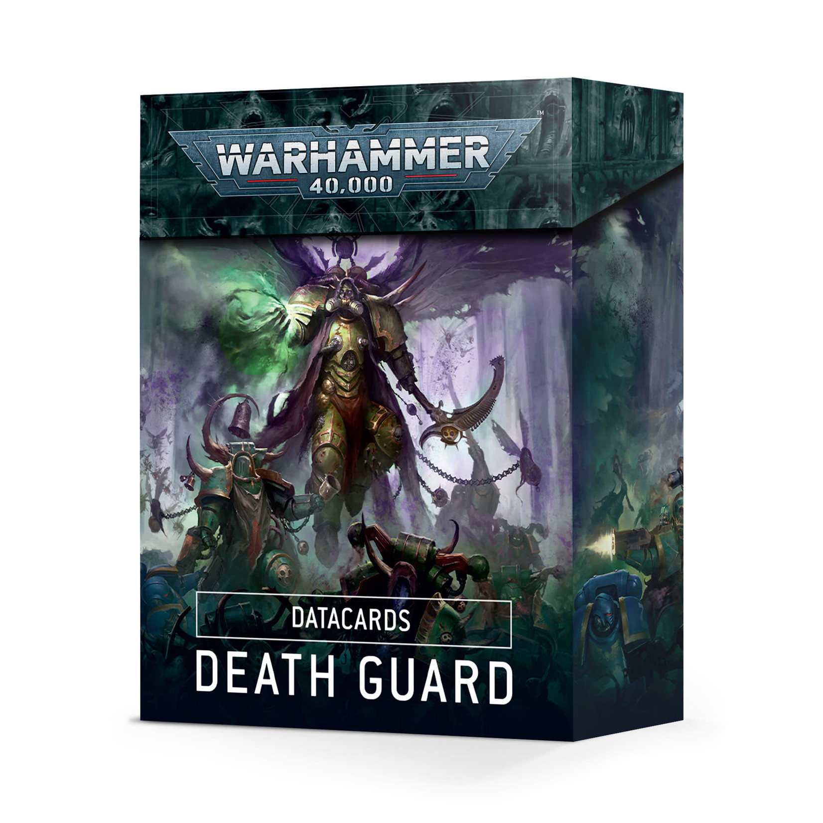 Warhammer 40K Death Guard Datacards (Anglais)