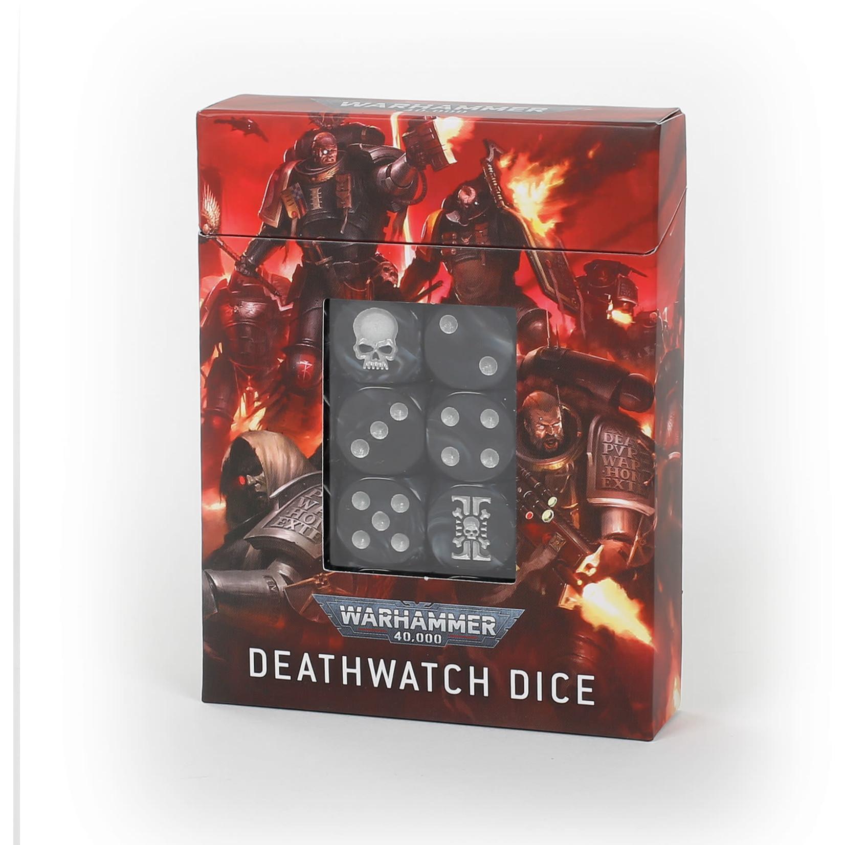 Warhammer 40K Deathwatch Dice Set