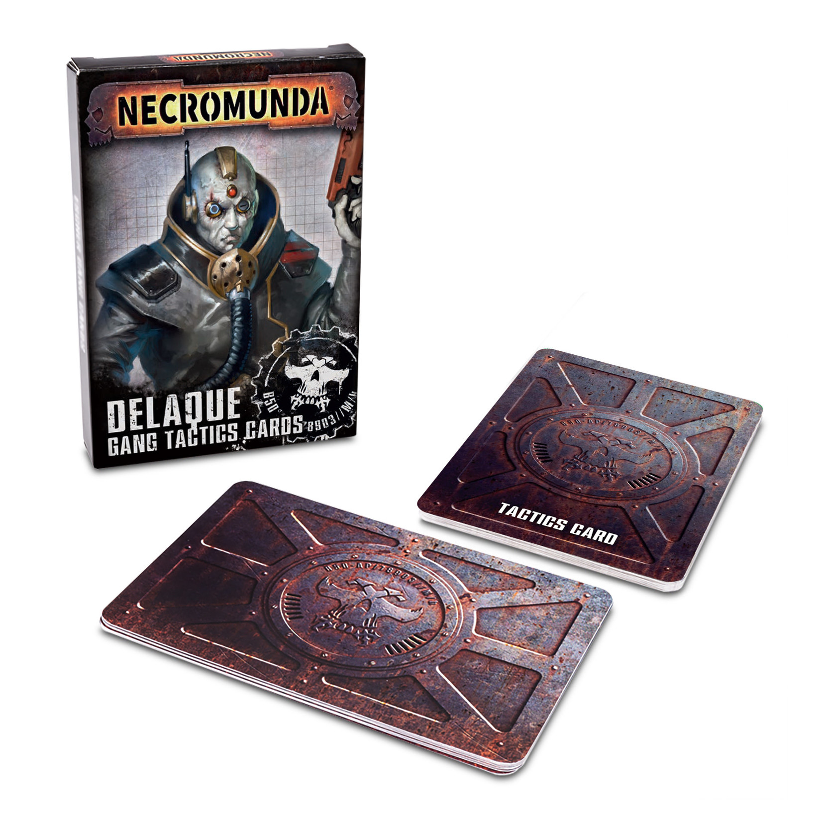 Necromunda Delaque Gang Tatics Cards