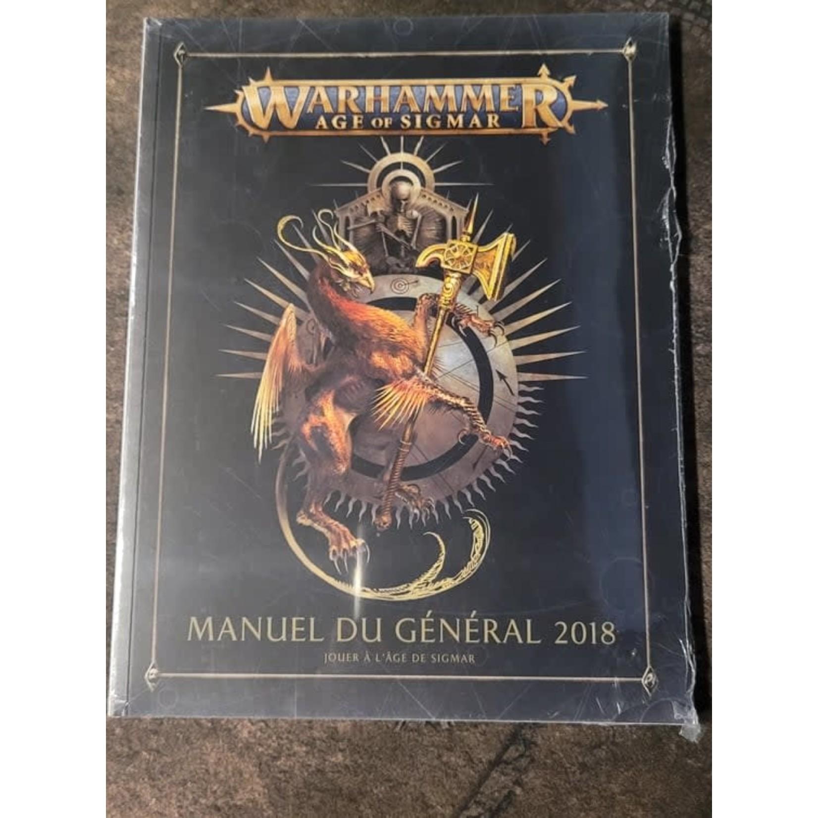 Age of Sigmar Manuel du Général 2018 (FR)