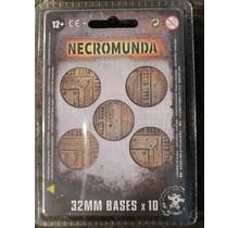 Necromunda 32mm Bases (10)
