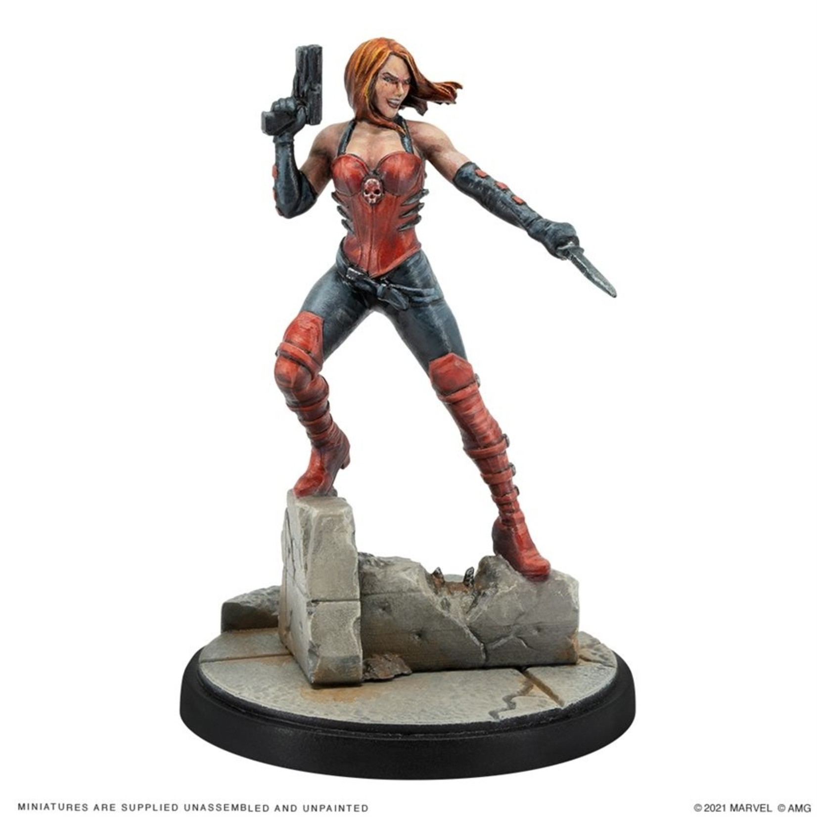 Atomic Mass Game Marvel Crisis Protocol - Sin and Viper Character Pack (Eng)