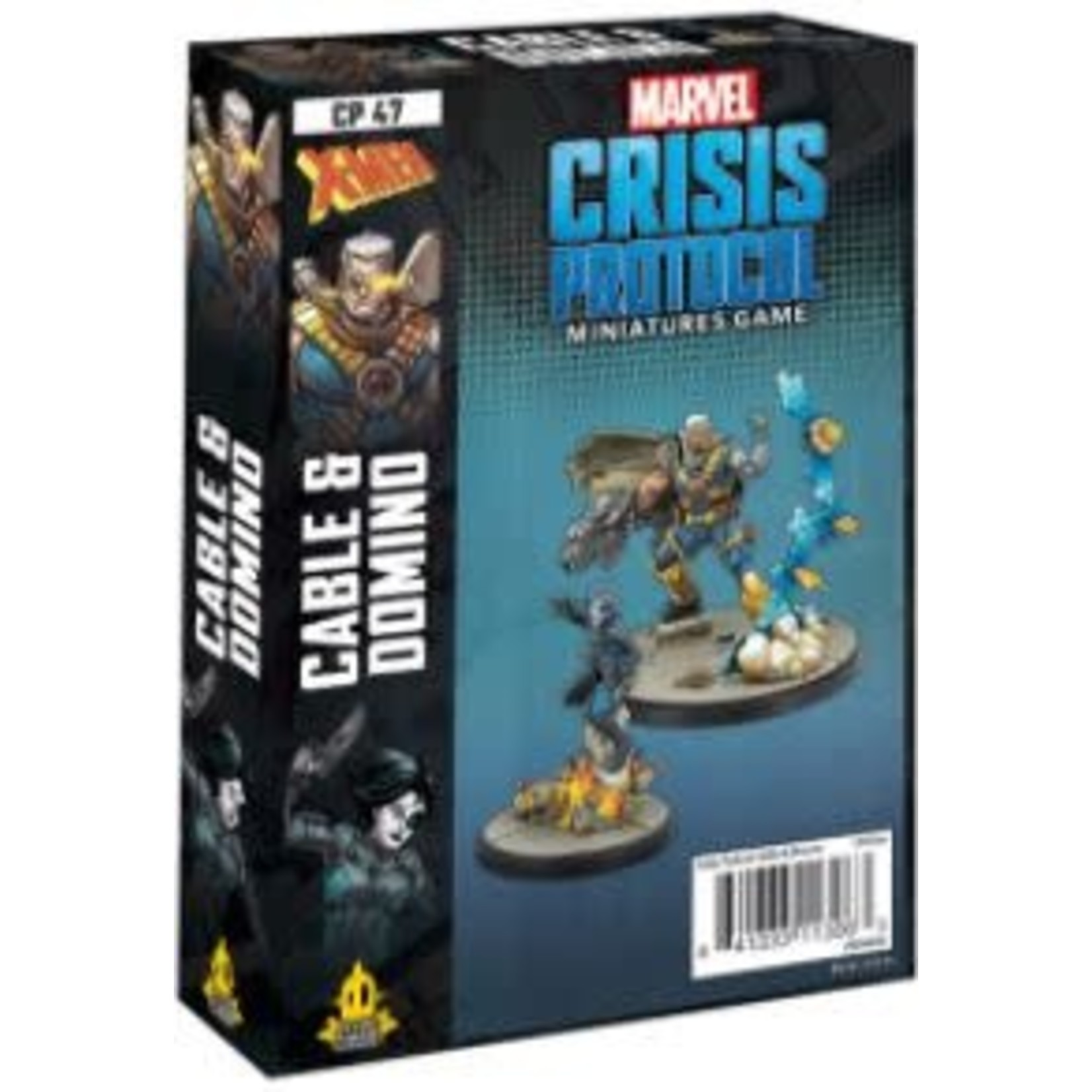 Atomic Mass Game Marvel Crisis Protocol - Domino & Cable Character Pack (Eng)