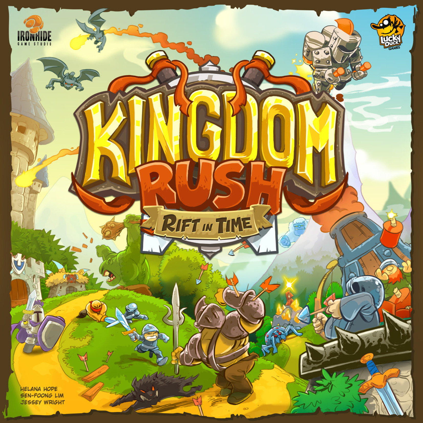 Lucky Duck  Games Kingdom Rush - Faille Temporelle (