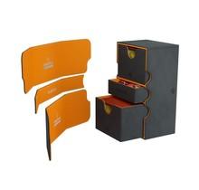 Deck Box - Stronghold Convertible XL Exclusive Line Black / Orange (200ct)