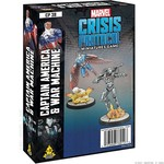 Atomic Mass Game Marvel Crisis Protocol - Captain America and War Machine Character Pack (Eng)