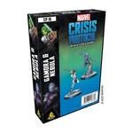 Atomic Mass Game Marvel Crisis Protocol - Gamora & Nebula Character Pack (Eng)