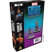Marvel Crisis Protocol - Okoye And Shuri Character Pack (Eng)