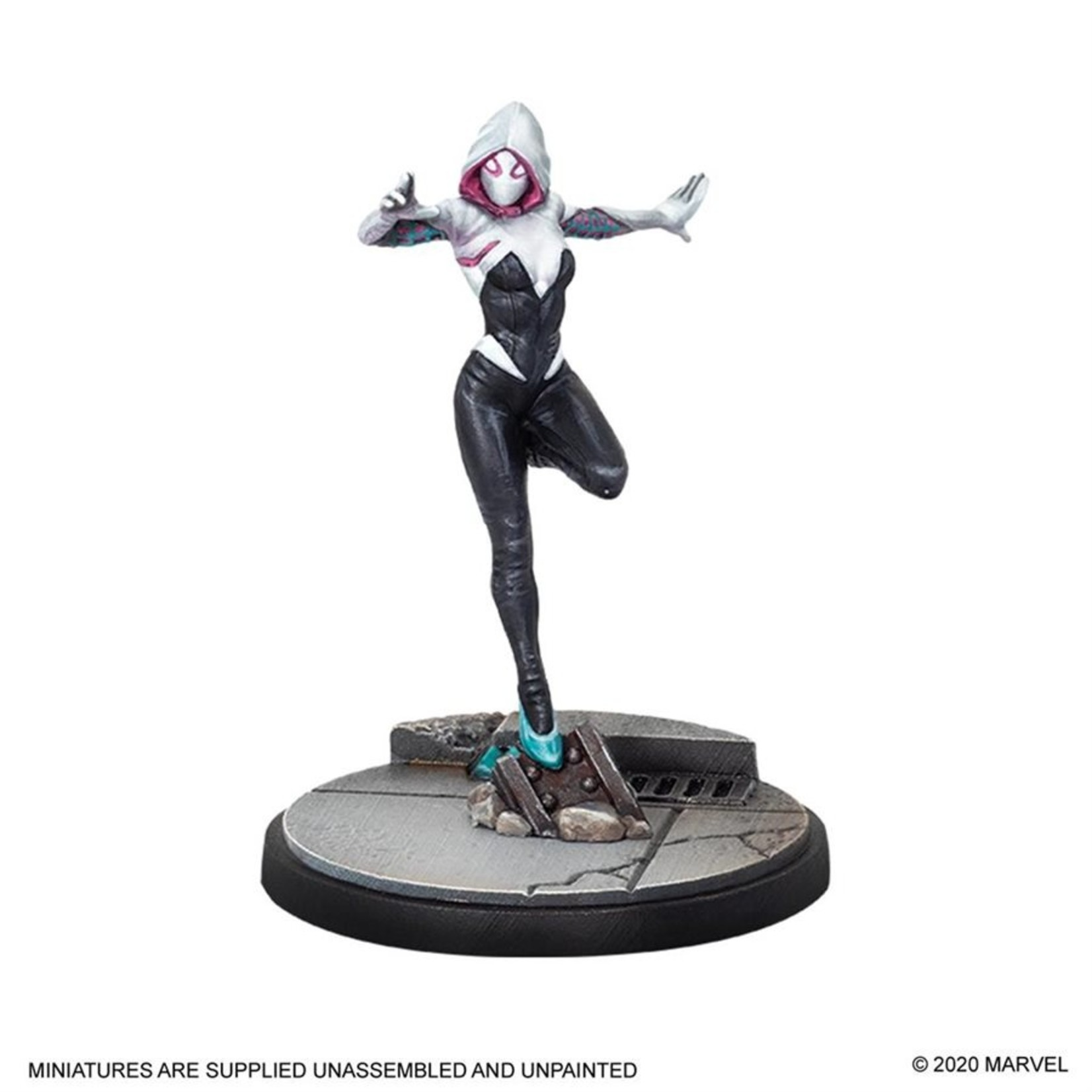 Atomic Mass Game Marvel Crisis Protocol - Ghost-Spider & Spider-Man Character Pack (Eng)