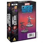 Atomic Mass Game Marvel Crisis Protocol - Hawkeye And Black Widow Character Pack (Eng)