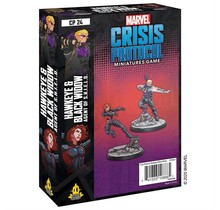 Marvel Crisis Protocol - Hawkeye And Black Widow Character Pack (Eng)
