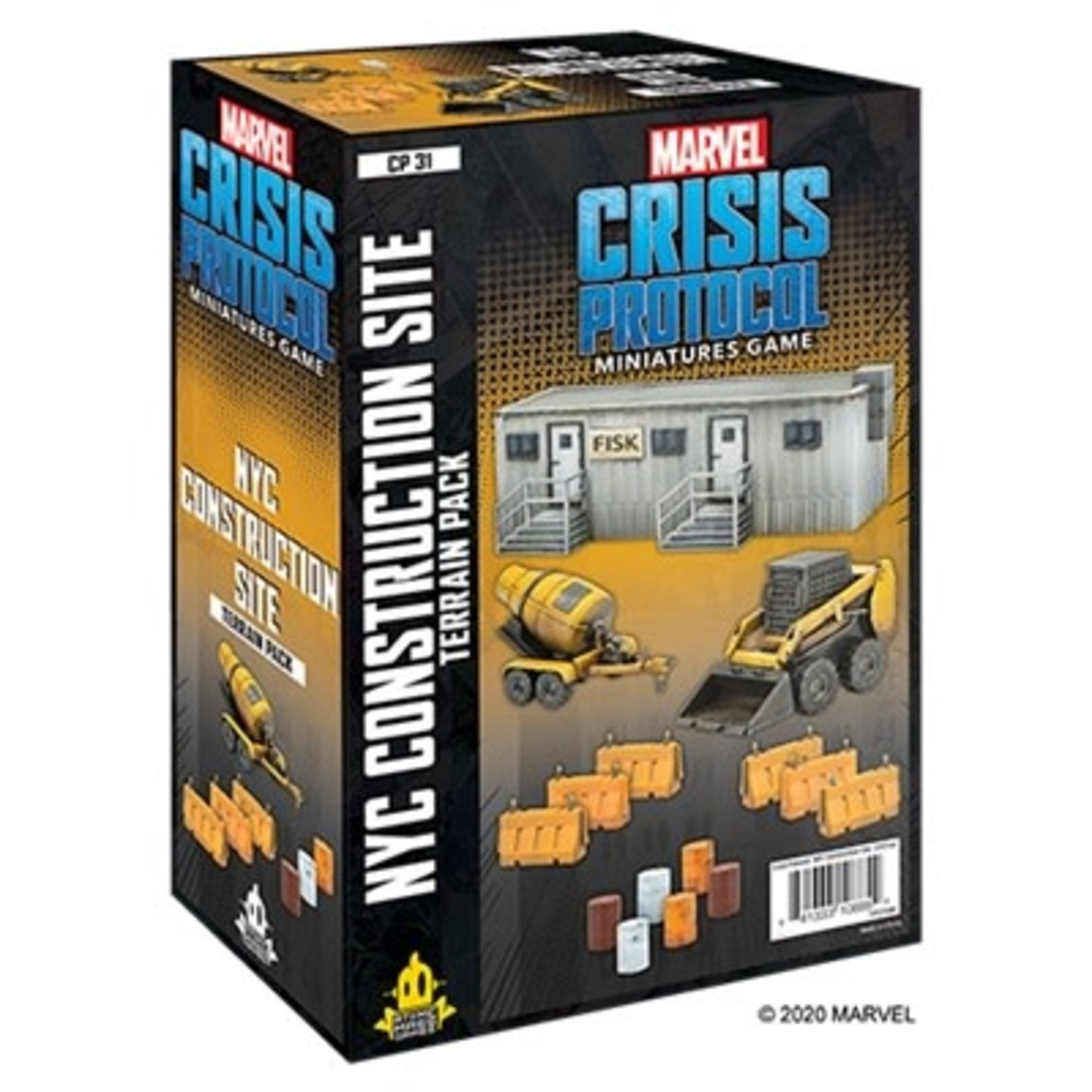Atomic Mass Game Marvel Crisis Protocol - Nyc Construction Site Terrain Expansion