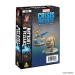 Atomic Mass Game Marvel Crisis Protocol - Crystal & Lockjaw Character Pack (Eng)