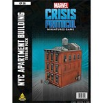 Atomic Mass Game Marvel Crisis Protocol - NYC Apartment Building Terrain Expansion
