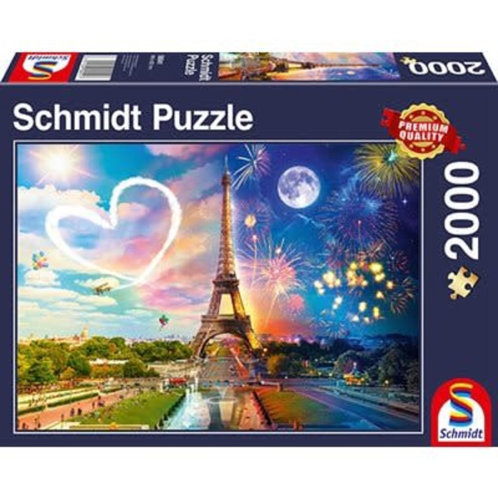 schmidt Paris day and night