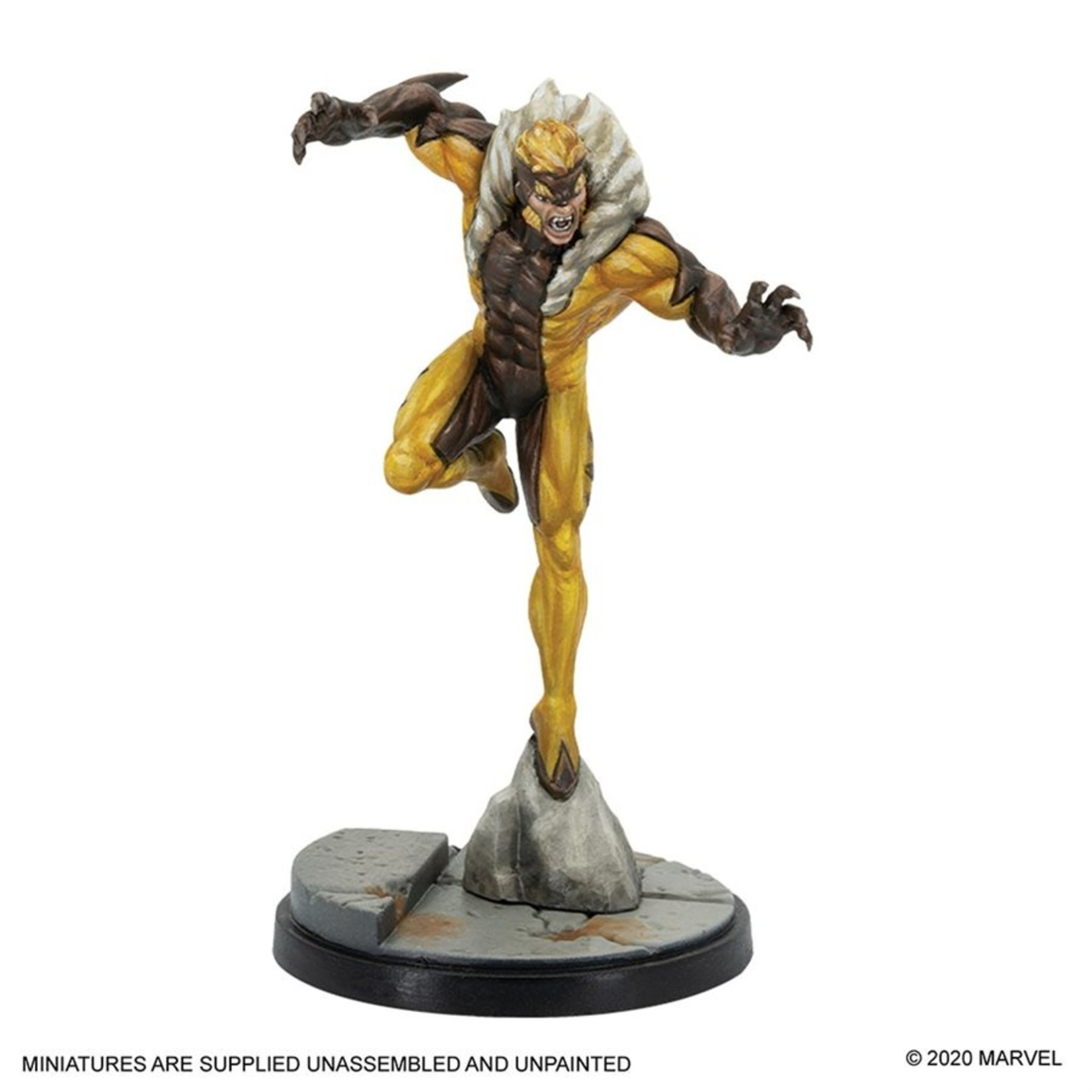 Atomic Mass Game Marvel Crisis Protocol - Wolverine and Sabretooth Character Pack (Eng)
