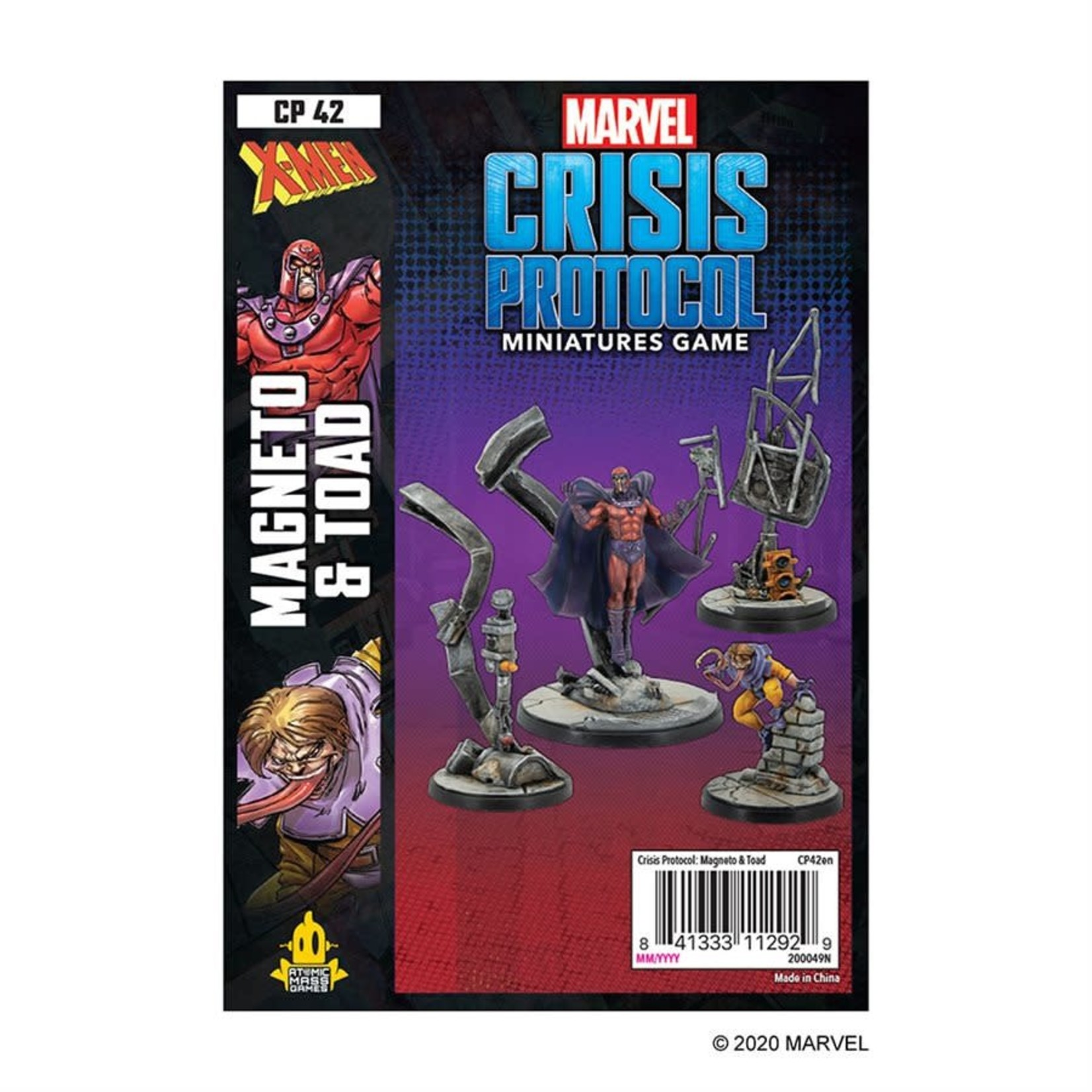 Atomic Mass Game Marvel Crisis Protocol - Magneto and Toad Character Pack (Eng)