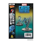 Atomic Mass Game Marvel Crisis Protocol - Beast and Mystique Character Pack (Eng)