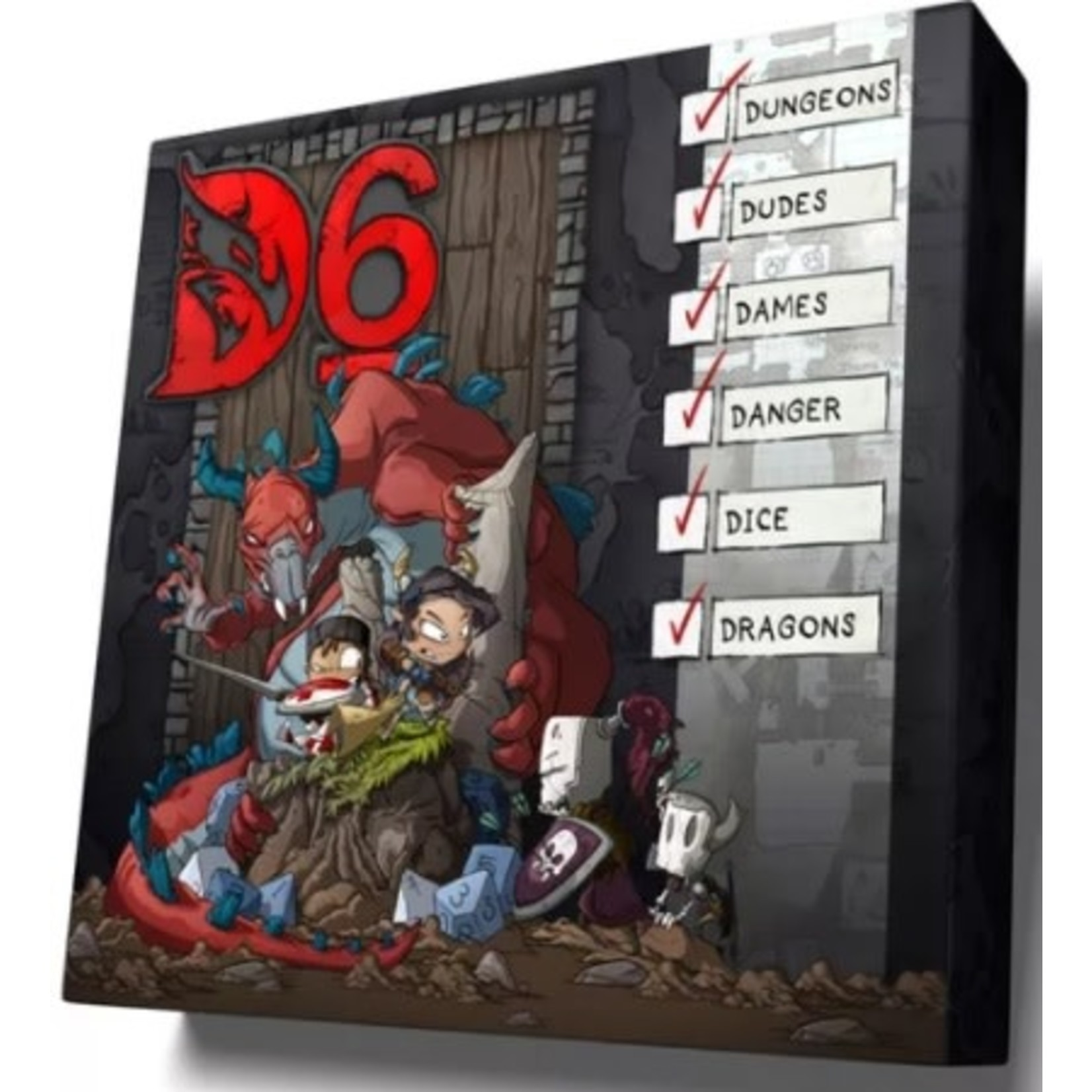 Certifiable D6 Boardgame (ENG)