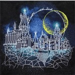 Diamond Dotz Moon Over Hoggwarts