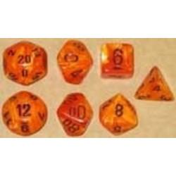 Set 7D Poly Vortex Orange/Black