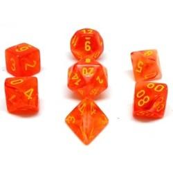 Set 7D Poly Ghostly Glow Orange/Yellow
