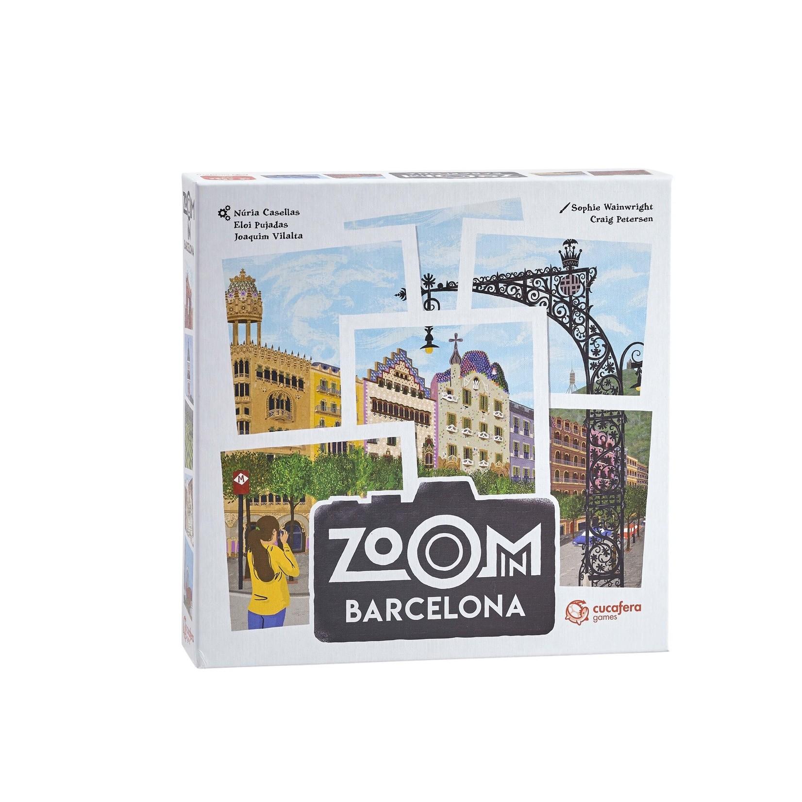 Blue Orange Zoom In Barcelona (ML)