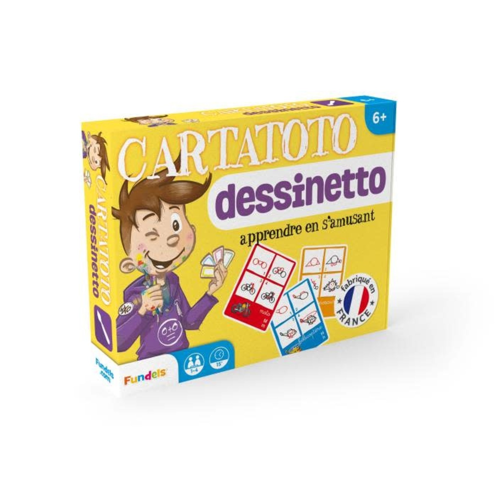 France Cartes Cartatoto Dessinetto (FR)