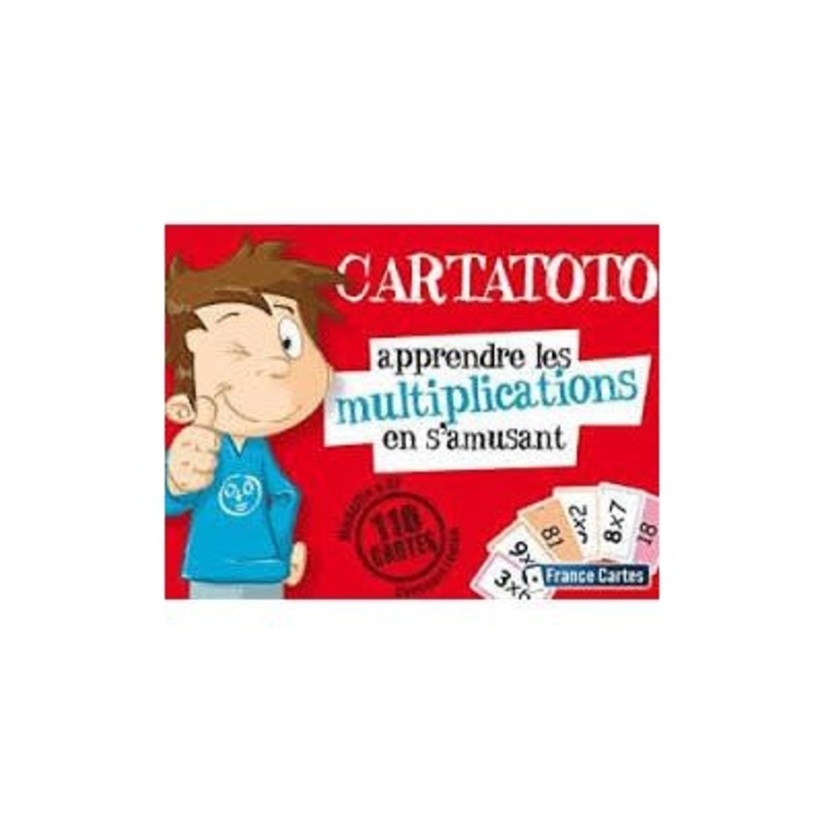 France Cartes Cartatoto Multiplications (FR)