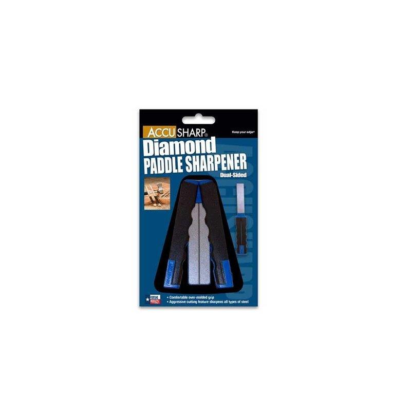 AccuSharp AccuSharp 051C Diamond Paddle Sharpener - Dual Sided