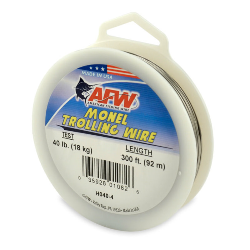 American Fishing Wire AFW Monel Trolling Wire 40Lb 300ft Spool