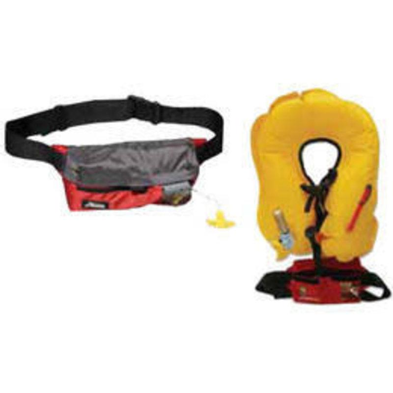 Hobie Hobie Inflatable Belt Pack PDF Red/Grey