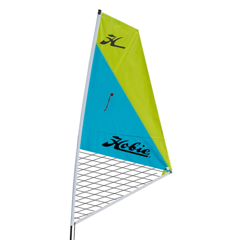 Hobie Hobie Mirage Sail Kit - Aqua/Chartreuse