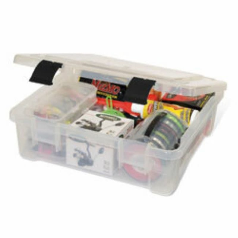 Plano Molding Co. Plano 7080 Pro Latch XXL Stowaway Clear With No Dividers