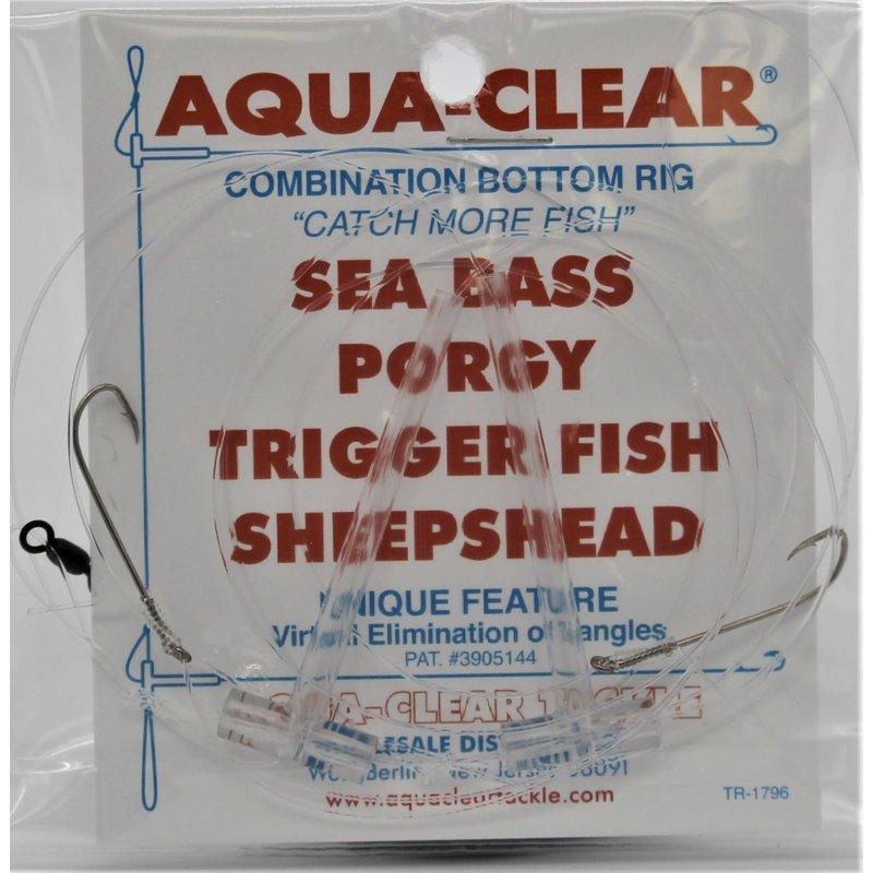 Aqua-Clear Tackle Aqua-Clear SP-26 Hi-Lo Sea Bass/Porgy Rig - #6 Long Shank Hooks