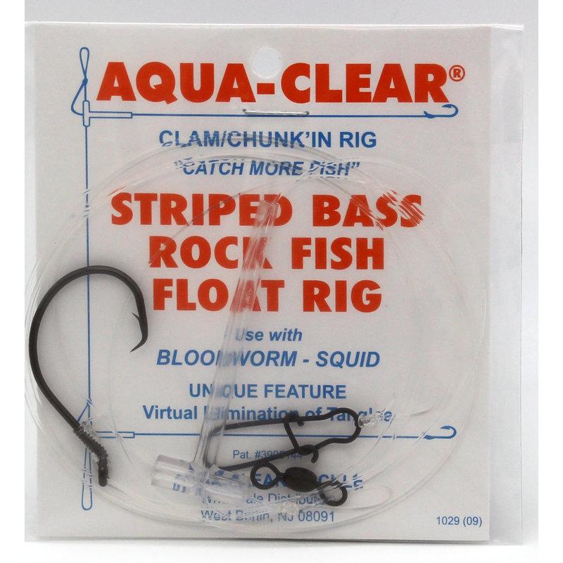 Aqua-Clear Tackle Aqua-Clear ST-7C Striped Bass 7/0 Circle Hook Eel Dropper Loop Rig