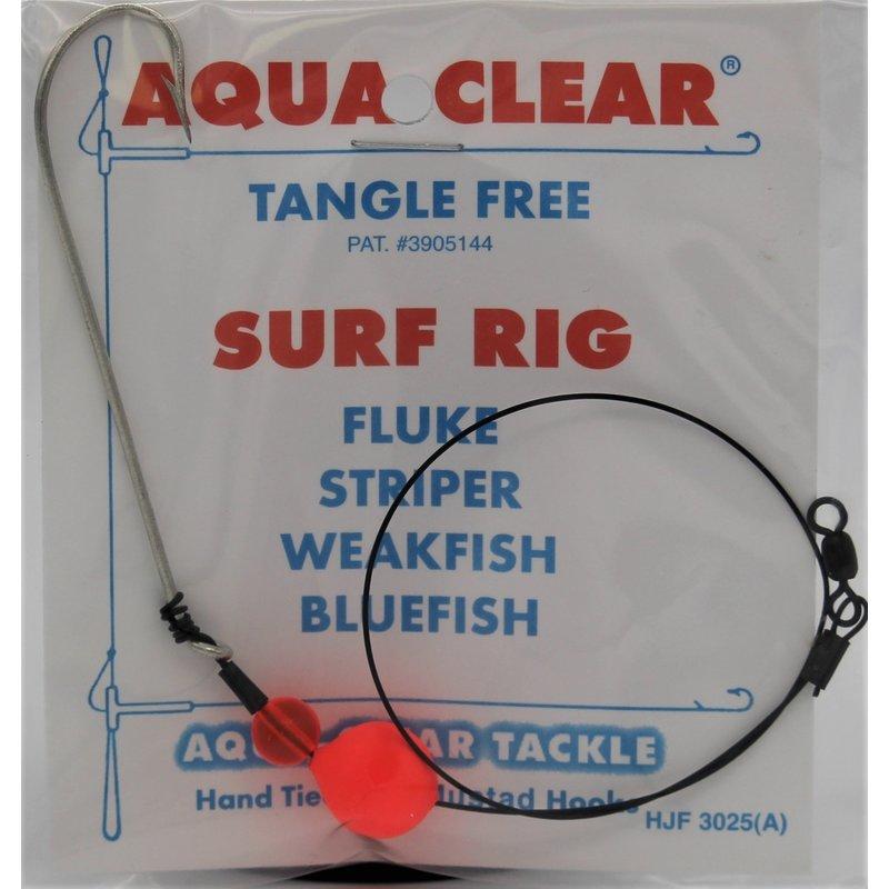 Aqua-Clear Tackle Aqua-Clear Bluefish Wire Rigs (40lb) w/Float & 3/0 Long Shank Hooks