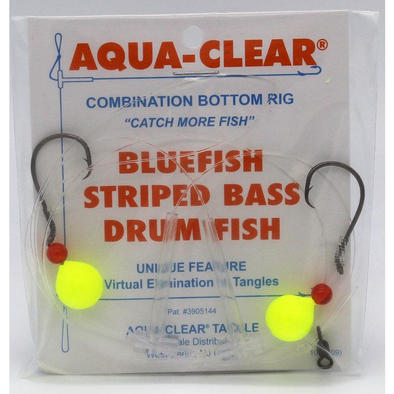Aqua-Clear Tackle Aqua-Clear Bluefish Hi-Lo 3/0 Circle Hook Rigs w/Floats