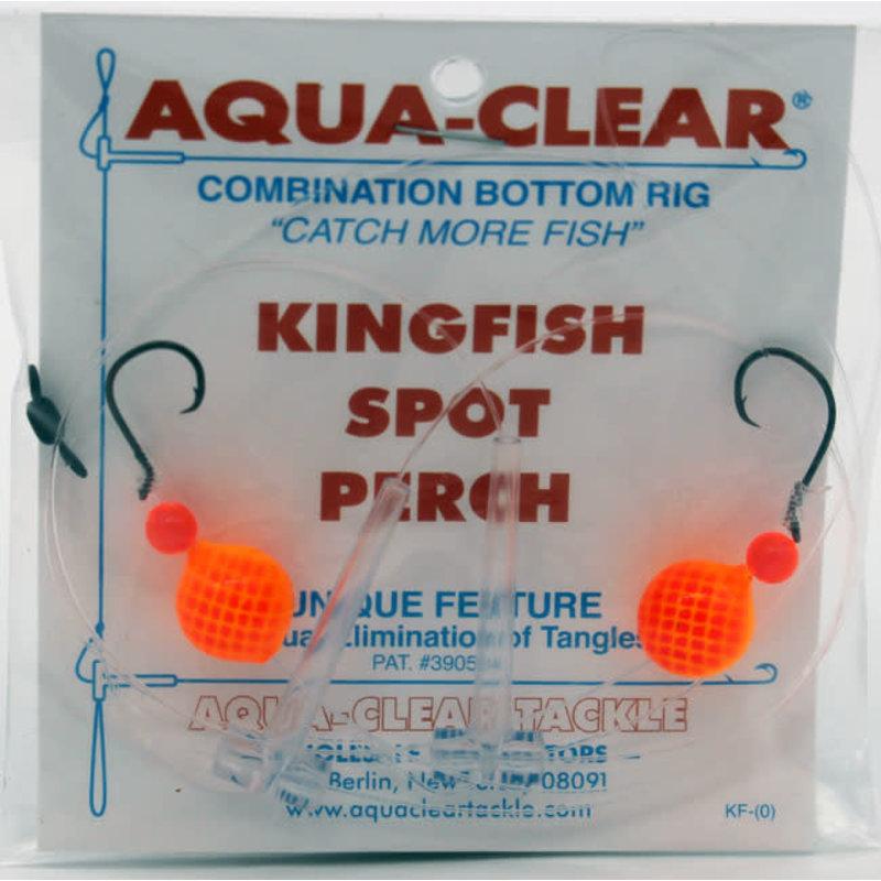 Aqua-Clear Tackle Aqua-Clear Kingfish/Spot/Perch Hi-Lo Rig w/Floats #2 Circle Hooks