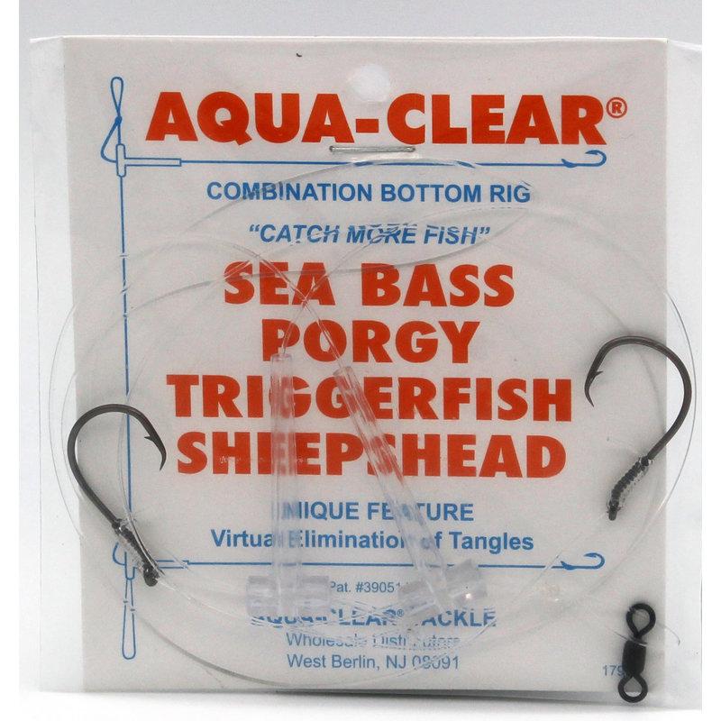 Aqua-Clear Tackle Aqua-Clear Triggerfish/Sheepshead Hi-Lo Circle Hook Rigs