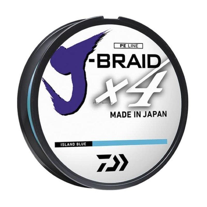 Daiwa Daiwa J-Braid X4 150yd Spool Braided Line