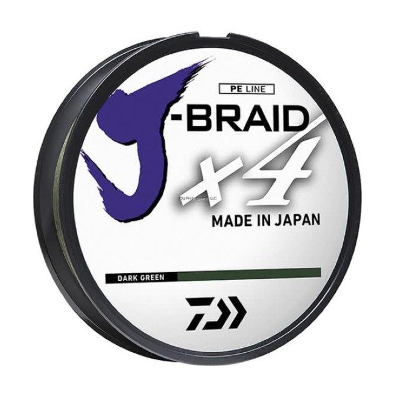 Daiwa Daiwa J-Braid X4 300yd Spool Braided Line
