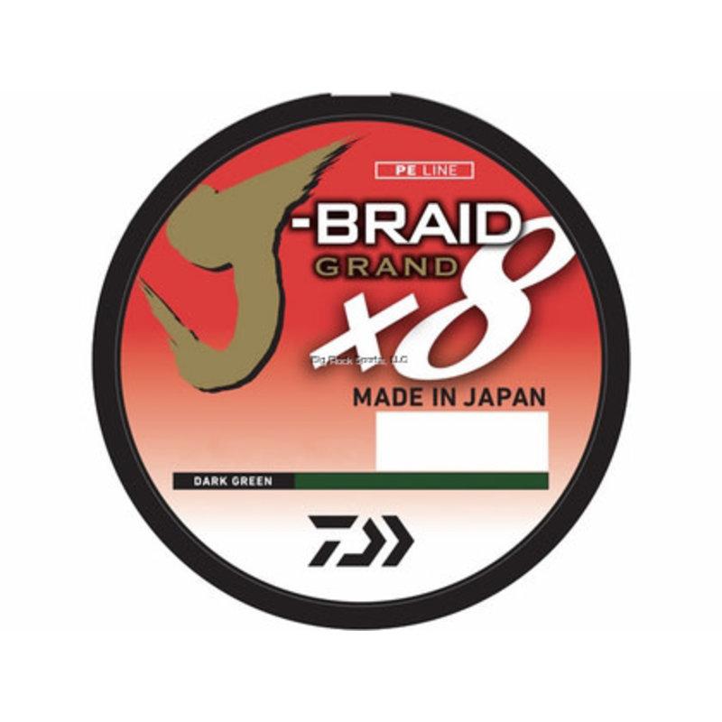 Daiwa Daiwa J-Braid X8 150yd Filler Pack Braided Line