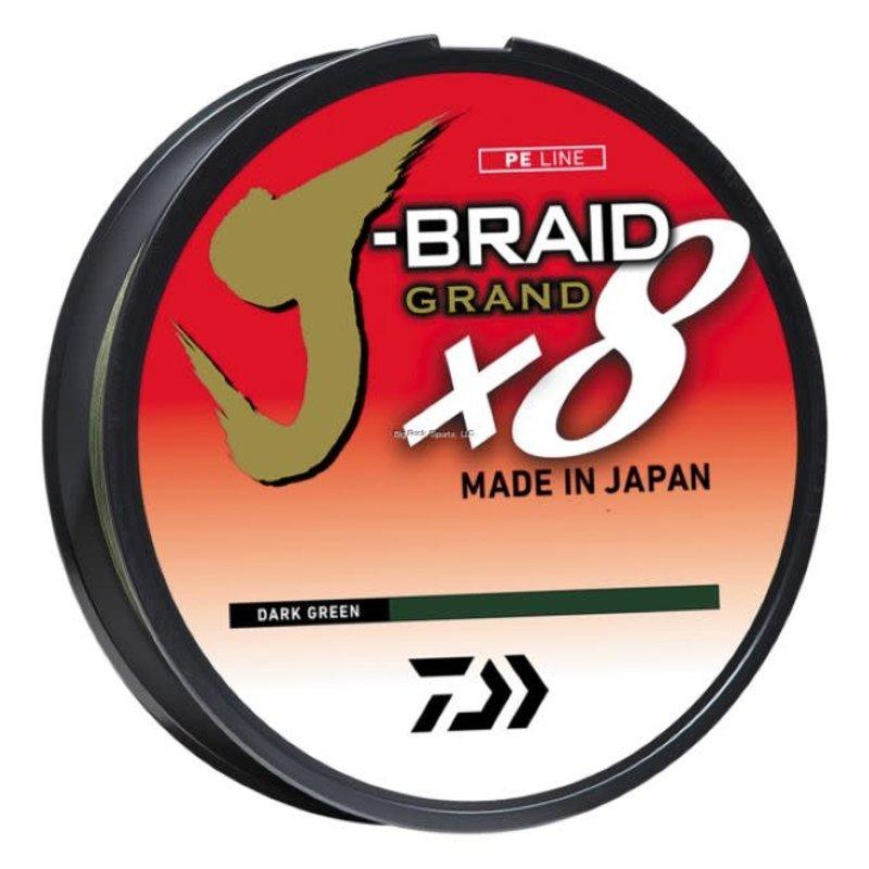 Daiwa Daiwa J-Braid X8 300yd Filler Pack Braided Line